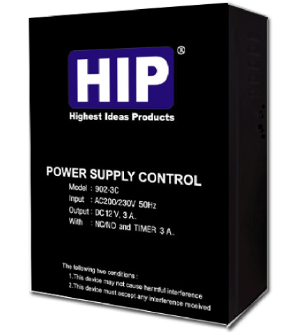 Power Supply HIP 12 VDC and Controller 3Amp